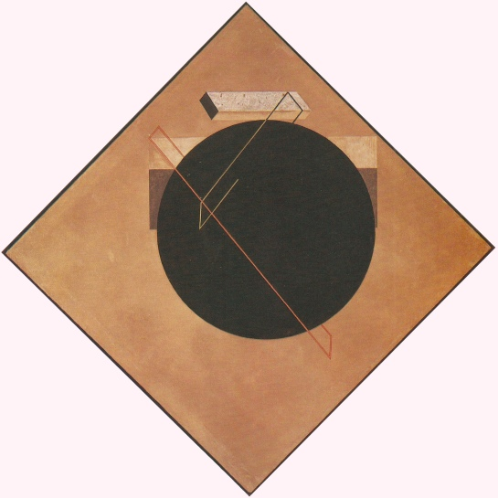 El Lissitzky, 8 Position Proun, 1923